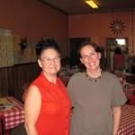 Carolyn Harris et Annie Thériault