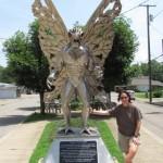 Statue du Mothman