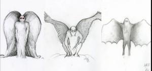 mothman-sketches