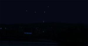 Objet volant dans le ciel de Sherbrooke le soir du 15 juin