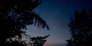 Ovni samedi soir au-dessus du Lac-à-la-Tortue