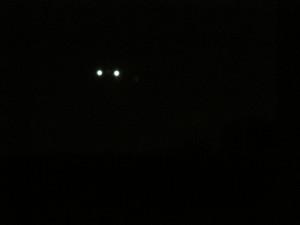 Lumières en forme de triangle à Lavaltrie