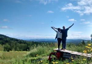 Objet bizarre sur le mont d'Arthabaska