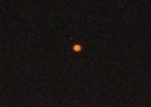 Boule Orange en core sur Amqui